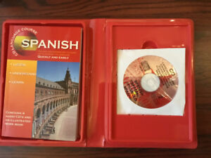 Learn to speak Spanish book and cd's