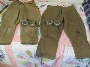 Antique jodphers and goggles