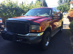 1999 Ford Excursion LIMITED SUV, Crossover