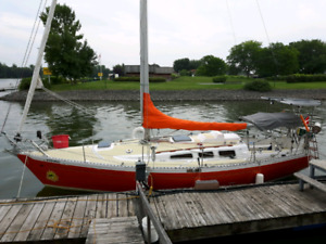 Voilier 32 pieds Paceship chance 32/28 1974