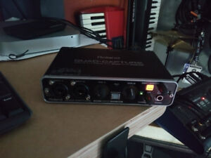 Roland Recording Interface