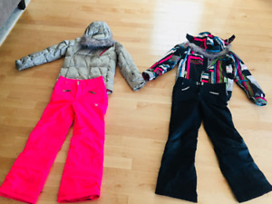 Children's Spyder Brand Ski Clothes - Like New!