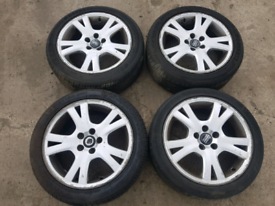 VOLVO V70 D5 SE AUTO 2004 alloys wheels rims 225/45 R17 225 45 R17, used for sale  Maltby, South Yorkshire