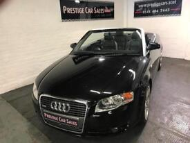2006 Audi A4 2.0TDI Cabriolet 2d 1986cc,full history,leather