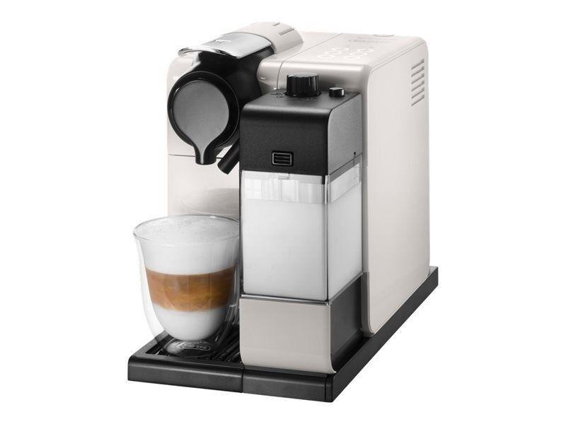 Brand New Delonghi Lattissima Nespresso Pod Coffee Machine Milk Frother White Espresso En550 W