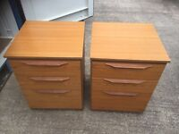 Pair of chest of drawers SALE NOW AGREED