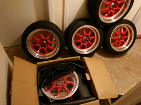 Japan racing TF2 wheels ×5