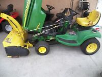 """John Deere LX277AWS Tractor with 42""""Snowblower"""