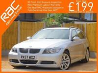 2007 BMW 3 Series 330D SE Touring Turbo Diesel 6 Speed Auto Full Leather Air Con