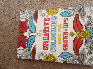 Brand new adult colouring book