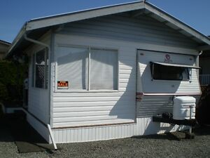 Lake Cowichang Paradise Village RV Lot and Trailer For Sale