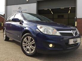 2007/07 Vauxhall Astra 1.6 i 16v Design Hatchback 5dr Petrol Manual Blue
