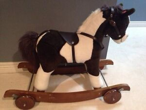 Wooden Rocking Horse Pottery Barn Kids