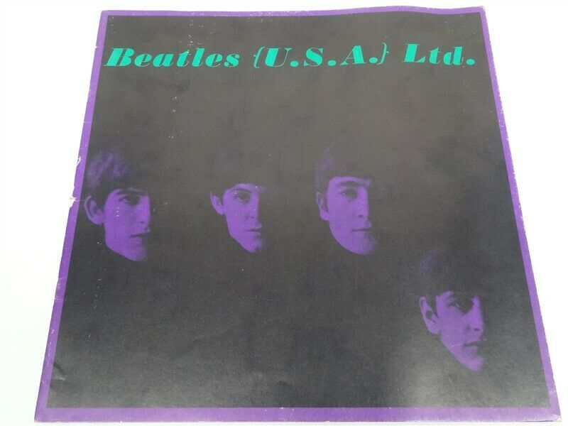 The Beatles - CONCERT PROGRAM / TOUR BOOK - Original From The 1964 U.S. Tour
