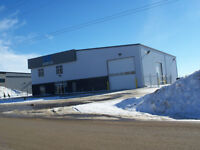 8,100 sf industrial building-For Sale or Lease