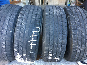 Bridgestone Blizzak 235/65R16 on Steel Rims 5 Bolt 115 Pattern