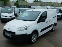 PEUGEOT PARTNER 1.6HDI CREW VAN L2 5 SEAT FINANCE ARRANGED CALL ANYTIME