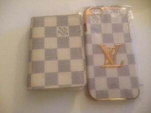 Louis Vuitton Iphone 6 case and wallet