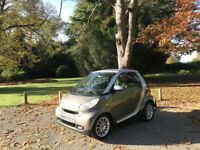 2009 Smart for two 1.0 ( 71bhp ) Passion MHD Automatic Convertible 2 Door Silver