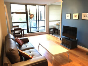 Furnished 1 bedroom condo in Yaletown - $2,200 per month