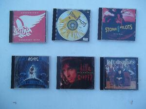 Over 100 CD's - Rock & Metal
