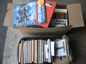 38 Books with  DVDS VCRS  - All for $10.00