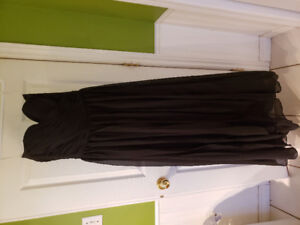 Black brides maid dress size 6 New