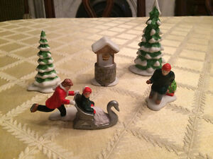 SPPU -Dept 56 New England Village Series - Winter Set - 5 pieces London Ontario image 1
