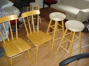 ikea dining chairs and stools