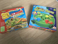 Hungry Frogs and 3D Snakes & Ladders Games