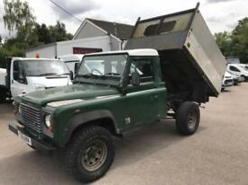 LAND ROVER DEFENDER 110 HARD-TOP TD5 TIPPER Green Manual Diesel, 1999