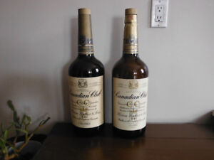 2 Canadian Club 3.79 Litre Bottles