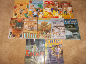12 Eric Walters books-High interest reading books London Ontario image 1