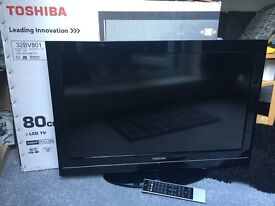 Toshiba 32 inch 1080p with built-in Freeview HD