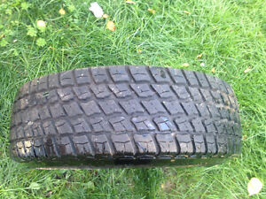 4 Like New Goodyear Radial Tracker Tires and Rims