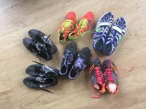 Assorted Women's Track Spikes (Sizes 6.5-7.5)