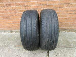 2 Michelin Primancy 235/60R18 All-Season Tires