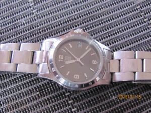Ladies stainless steel ESQ by movado watch