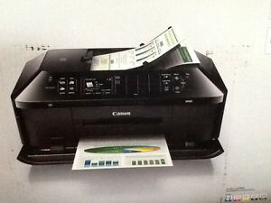 CANON PIXMA MX922 PRINT-COPY, SCAN-FAX, DIRECT PHOTO  like new