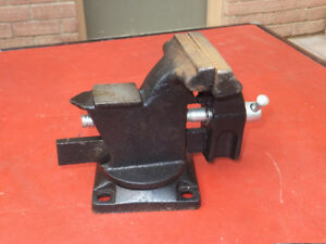NEW Old Stock 3 Inch Swivel base Vise! Made in USA