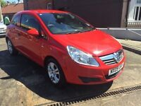 vauxhall corsa 1.0 , 2009, sold with 12 months mot, only 54k!