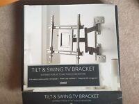 Tilt and swing TVs bracket