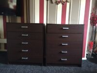 Two sets of draws