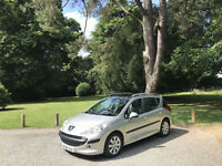 2008 Peugeot 207 SW 1.4 VTi 95 S 5 Door Estate Silver (FINANCE AVAILABLE)