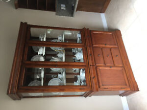 China cabinet- moving