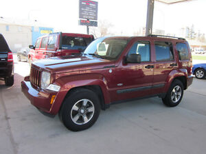 2008 Jeep Liberty Sport 4x4 SUV, Crossover