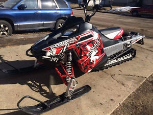 Want to trade 2012 PolarisAssault 800 for older FXR or DYNA