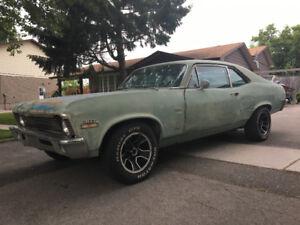 1970 Chevy Nova (California Car)