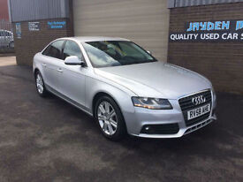 2008 58 AUDI A4 2.0TDI 1986cc SE 6 SPEED MANUAL,112000 MILES WITH FULL SERVICE