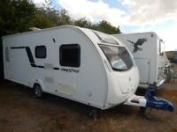 Swift Freestyle S4 FB 4 Berth Rear Fixed Bed End Washroom 2013 Caravan For Sale